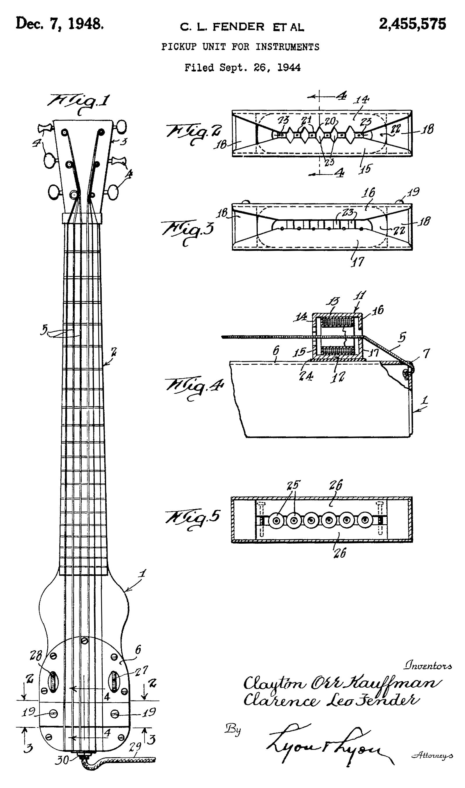 catch of the day 1945 k f lap steel fretboard journal rh fretboardjournal com fender lap steel wiring diagram Light Switch Wiring Diagram